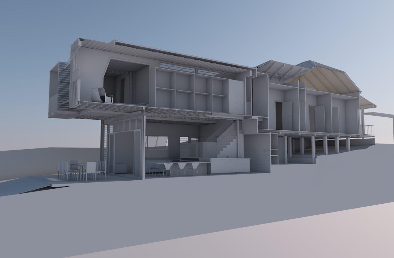 modular house extension 3