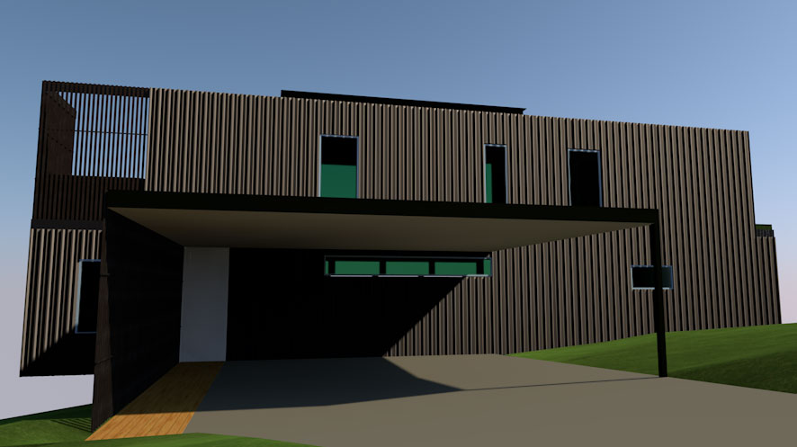Mount Tamborine Modular House