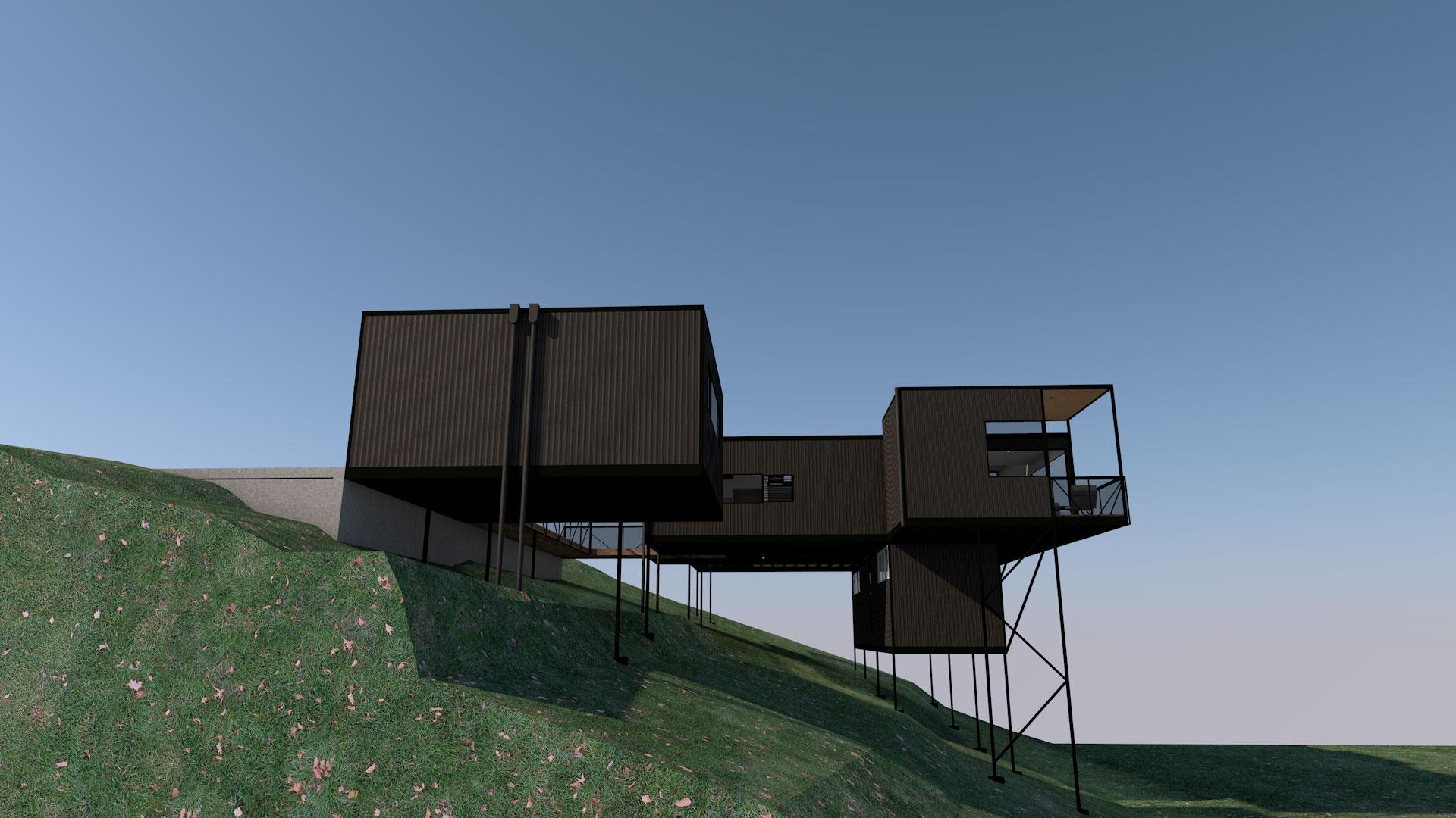 Mt Glorious Modular House